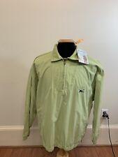 NEW Tommy Bahama Golf Green Half Zip Pullover Jacket Polyester Nylon Medium $140