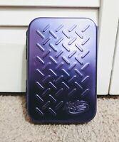 Madcatz Game Boy Advance SP Metal Case Blue Mad Catz