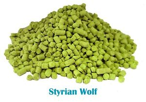 Styrian Wolf (2019 Harvest) Fresh Pellet Hops  - Home Brewing - Same Day P&P