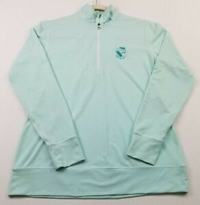 FJ Footjoy Golf Women's ¼ Zip Activewear Jacket Small S Stripes Stretch Smooth