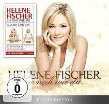 HELENE FISCHER - SO NAH WIE DU (PLATIN EDITION-LIMITED)   CD+DVD NEU