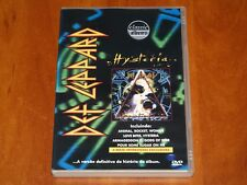 DEF LEPPARD HYSTERIA DVD DOCUMENTARY LIVE FOOTAGE INTERVIEW RARE PERFORMANCE New