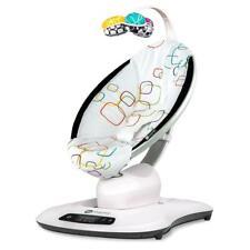 4moms MamaRoo 4.0 (Multi Plush) Motorised Natural Motion Baby Bouncer