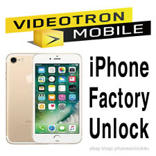 Videotron Unlock Service iPhone 5 5c 5s SE 6 6+ 6s 6s+ 7 7+ 8 8+ X Clean Only