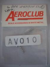 AEROCLUB MODELLI AEREI RICAMBI PARTE AV 010 1/72 MERLIN Spitfire 6 TUBO SCARICHI
