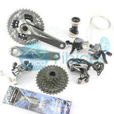 2015 Shimano Alivio M4000 Mountain Groupset Group set 3x9-sp Hollowtech