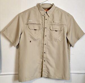 Habit 360 Degree Venting 40+ Solar Factor Fishing Outdoor Shirt Men's XL