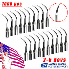 1000 PCS Dental Ultrasonic Perio Scaler Insert Perio Tips P1 fit EMS FREE SHIP