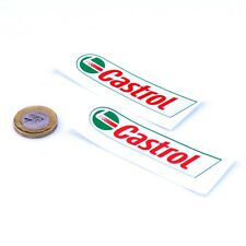 CASTROL Oil Sticker Classic Vintage Retro Car Motorcycle Vinyl Decals 50mm Long
