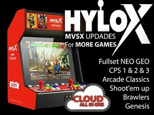 Mvsx NEO GEO Hylox packs 552 jeux ALL IN ONE  - Cloud Version - promotion