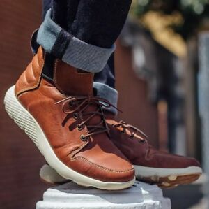 TIMBERLAND MEN' LIMITED RELEASE FLYROAM LEATHER BOOTS A1K1F SIZE:10M