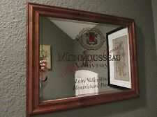VINTAGE Monmousseau Vouvray Loire Valley Wines  ADVERTISING MIRROR France