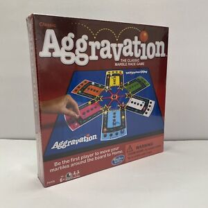 Classic AGGRAVATION Mabel Race Game Board Game Hasbro Gaming Family Sealed New
