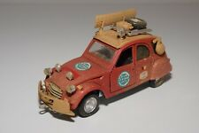 W 1:25 POLISTIL S-30 S30 S 30 CITROEN 2CV 2 CV RAID AFRIQUE EXCELLENT CONDITION