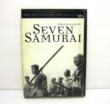 1998 Criterion Collection Seven Samurai 1954 Akira Kurosawa Japanese 1st print