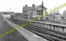 Old North Road Railway Station Photo. Gamlingay - Lord's Bridge. (1)