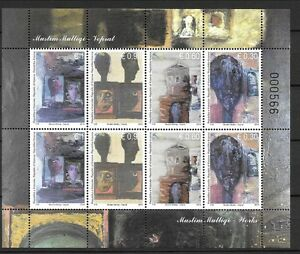KOSOVO Sc 244 NH MINISHEET of 2014 - ART