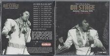 ELVIS WALK A MILE IN MY SHOES ON STAGE JAN/FEB 1970 DELUXE BOXSET 7 CDS LIVRET