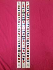 "Slot Machine Reel Strips ""Harrah's JACKPOT"" A-C-1  A-C-5  A-C-6 New Old Stock"