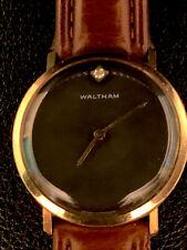 Vintage Waltham  Black Dial Watch