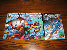 Marvel - STARLORD 1 - 3 Complete Series!!  1996 Glossy VF
