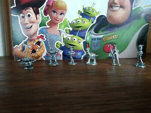 Lot of 6 Toy Story Monopoly Game Tokens  Movers Replacement Pieces Disney Pixar