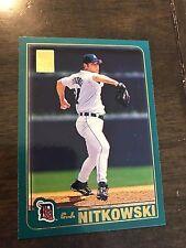 2001 Topps C.J. Nitkowski Detroit Tigers 231