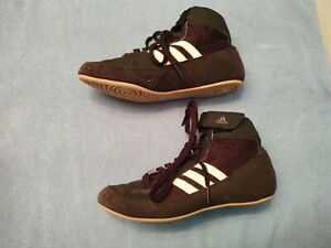 Boys Male Adidas Soft High Top Shoe Sneaker?  Youth Size 4