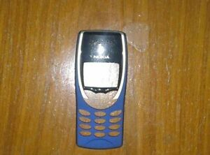 Genuine Original Nokia 8210 Front fascia cover housing Blue