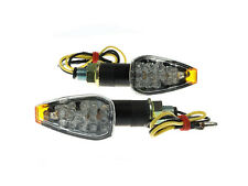 LED Blinker Sparkle schwarz 20mm Kawasaki