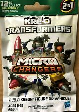RARE Kre-o Transformers Micro Changers Optimus Collection 3 Figure Sealed