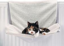 New! Hanging Radiator Cat Bed Warm Soft Fleece Kitten Pet Cradle Basket Hammock