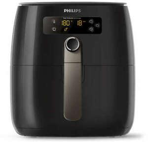 PHILIPS Friteuse Électrique Double sans Huile Airfryer HD9741/10 à Air Chaud