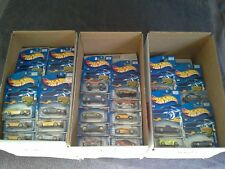 2002 Hot Wheels Lot of 10 Different Carded MOC/MIP Cars