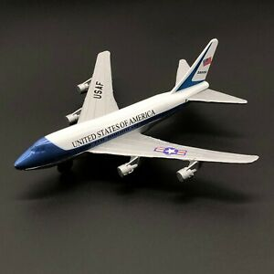 USAF United States of America Boeing 747 SP Diecast Presidential Airplane Model