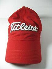 Titleist Red Ball Cap Adjustable TGC Engineering 100 Cotton