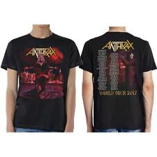 OFFICIAL LICENSED - ANTHRAX - BLOODY EAGLE TOUR T SHIRT THRASH METAL