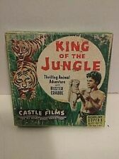 "Vintage Castle Films 8mm Film, Super 8, ""King of the Jungle"", Buster Crabbe, B&W"