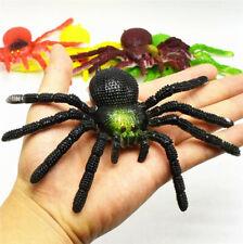 "15CM 6"" Fake Spider Shaped Rubber Kids Children Toy Halloween Big Web Pro Gift"
