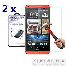 2x For HTC Desire 816 HD Premium Tempered Glass Screen Protector Guard Film