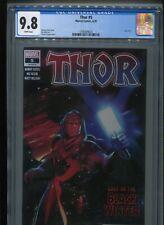 Thor #5 (2020) CGC 9.8 WHITE pages (1st Black Winter!) Donny CATES Nik KLEIN