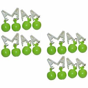 16 x Tischtuchbeschwerer Motiv Apfel Tischdeckenhalter Tischdeckengewichte TOP