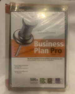 Business Plan Pro Version 11.0 2008 DVD Set With Books