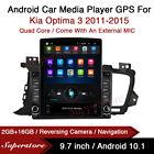 9.7  Android 10.1 Car Stereo non DVD USB GPS Head Unit For Kia Optima 3 11-15