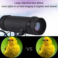 8x21 Hiking Travel Mini Monocular Telescope Full Optics Lens HD Scope Hunting SA