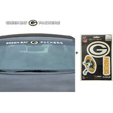 NFL Green Bay Packers Car Truck Suv Windshield Decal Sticker with Bonus