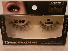Women's Laflare 3D Faux Mink Lashes Lfsd 04F, New with Box