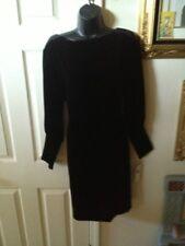NWT Lauren by Ralph Lauren Black Dress 6 $229
