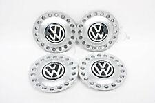 "Genuine VW Beetle 1999-2005 Wheel Center Hub Caps Type 1 15"" 16"" 4x pcs SET"