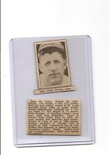Charlie Lefty Grimm 1936 Pittsburgh Sun-Telegraph Sport Stamp Card  RARE BV$120
